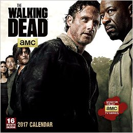 Walking Dead 2017 Wall Calendar