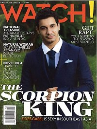 CBS Watch Magazine cover