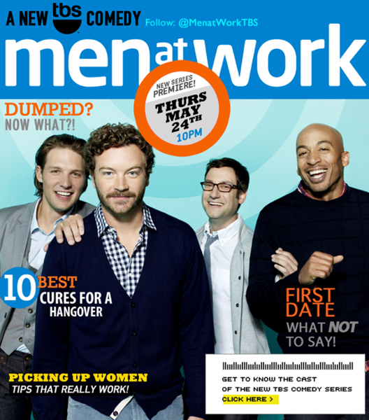 Get to know the cast of TBS s new original sitcom MEN AT WORK ... 6ccc620fb