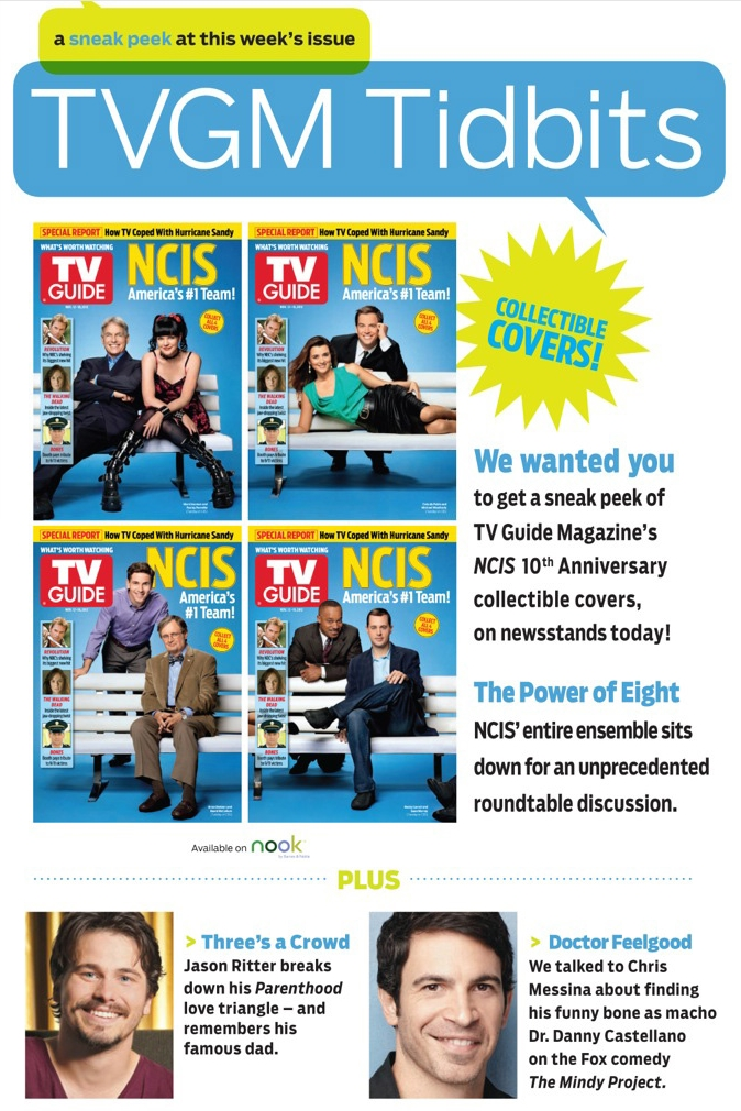 NCIS Old News and Spoilers From The TV MegaSite