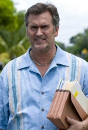 "Bruce Campbell of ""Burn Notice"""