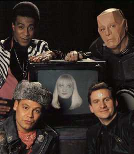 Red Dwarf cast picture