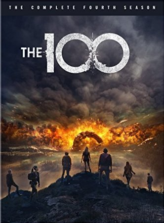 The 100 The Complete Fourth Season DVD cover