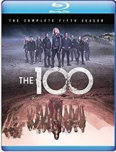 The 100: The Complete Fifth Season DVD cover