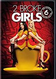2 Broke Girls: The Complete Sixth Season DVD cover