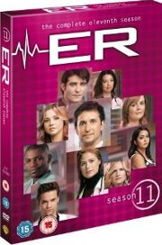 ER season 11 DVD cover