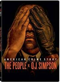 American Crime Story: The People v. O.j. Simpson Blu-ray DVD cover