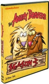 The Angry Beavers: Season Three, Part 1 DVD cover