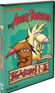The Angry Beavers: Seasons One & Two DVD cover