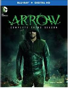 Arrow: The Complete Third Season DVD cover
