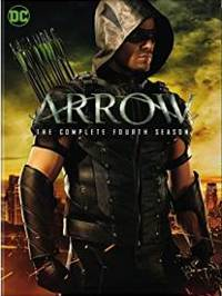 Arrow The Complete Fourth Season DVD cover