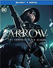 Arrow: The Complete Fifth Season [Blu-ray] cover