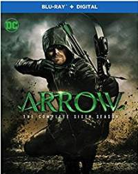 Arrow: The Complete Sixth Season DVD cover