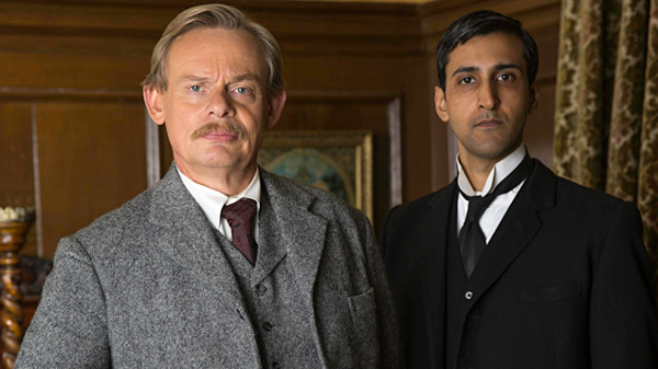 Martin Clunes and Arsher Ali