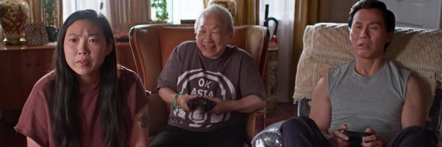 Awkwafina, Chin and Wong