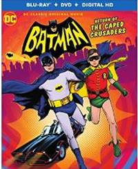 Batman: Return of the Caped Crusaders DVD cover