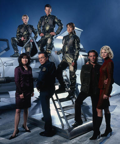 Battlestar Galactica cast picture from http://www.newswire.c