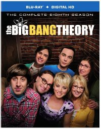 The Big Bang Theory: The Complete 8th Season DVD cover