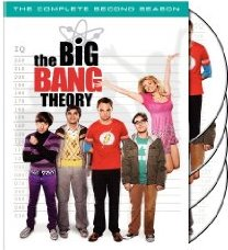 The Big Bang Theory: The Complete Second Season DVD cover