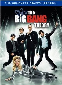 The Big Bang Theory: The Complete Fourth Season DVD cover