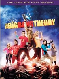 The Big Bang Theory: The Complete Fifth Season DVD cover