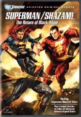Superman/Shazam: The Return of Black Adam DVD cover