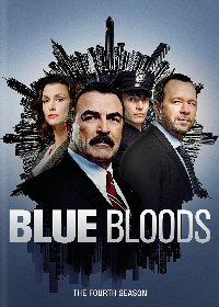 Blue Bloods: The Fourth Season DVD cover
