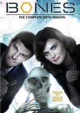 Bones: The Complete Sixth Season DVD cover