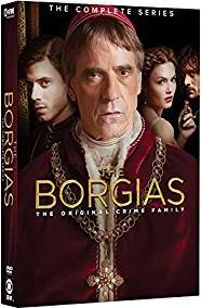The Borgias: The Complete Series DVD cover