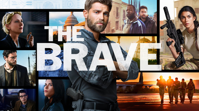 The cast of The Brave