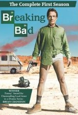 Breaking Bad - The Complete First Season DVD cover