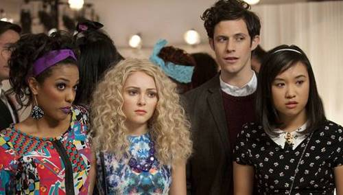 some of The Carrie Diaries cast