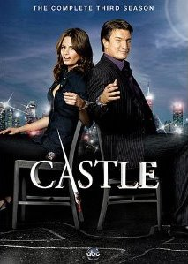 Castle: The Complete Third Season DVD cover