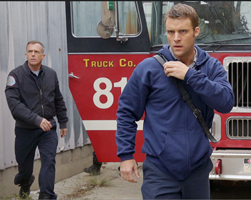Jesse Spencer and David Eigenberg