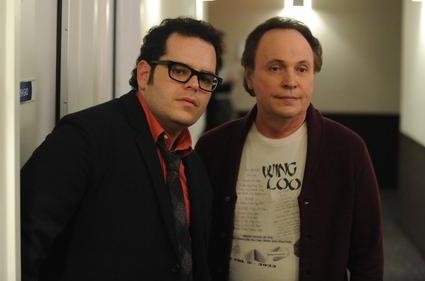 Josh Gad and Billy Crystal