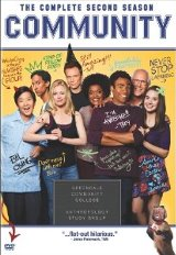 Community: The Complete Second Season DVD cover