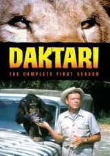Daktari The Complete First Season DVD cover
