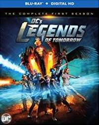 DC's Legends of Tomorrow Season 1 DVD cover