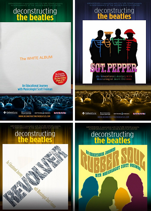 Deconstructing the Beatles DVD covers