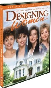 Designing Women: The Complete Fifth Season DVD cover