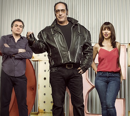 Andrew Dice Clay and other characters