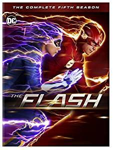 The Flash The Complete Fifth Season DVD cover