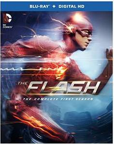 The Flash: The Complete First Season DVD cover