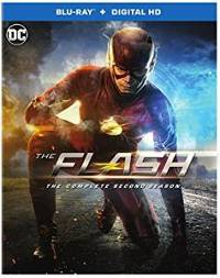 The Flash: Complete Second Season DVD cover