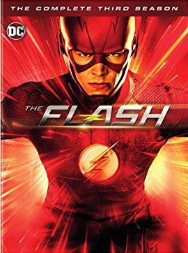 The Flash: The Complete Third Season Blu-ray cover
