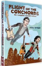 Flight of the Conchords Season 2 DVD cover