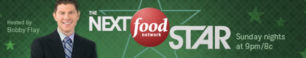 The Next Food Network Star hosted by Bobby Flay banner