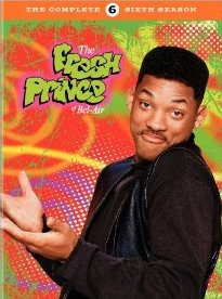 The Fresh Prince of Bel Air: The Complete Sixth Season DVD cover