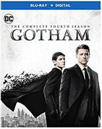 Gotham: The Complete Fourth Season DVD cover