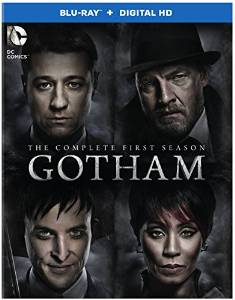 Gotham: The Complete First Season DVD cover